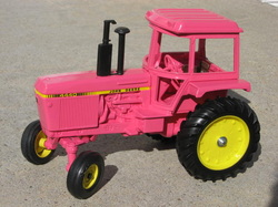 Pink John Deere Tractor Toys http   customtoytractors weebly com Pink John Deere Tractor